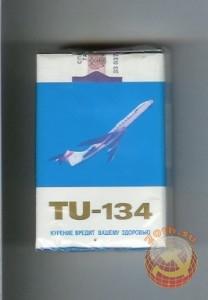 Сигаретная пачка ТУ-134