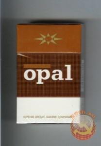 Сигаретная пачка Опал
