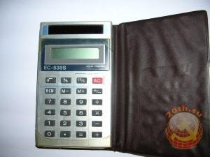 Калькулятор на солнечных батареях