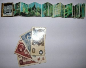Брелок книжка и банкноты