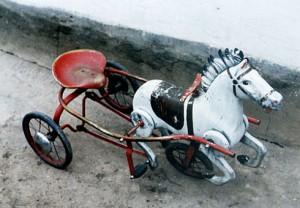 лошадь с педалями