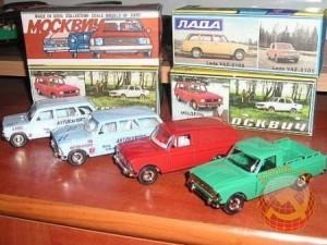 Коллекционные модели автомобилей СССР