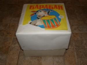 Советский барабан. Упаковка оригинальная