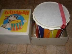 Барабан детский, советский.