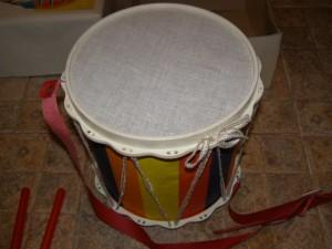 Советский детский барабан