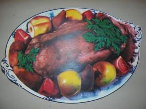 """Иллюстрация из книги """"Книга о вкусной и здоровой пище"""" 1974 г."""