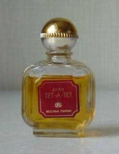 """Духи """"Тет-а-тет"""". Париж, СССР."""