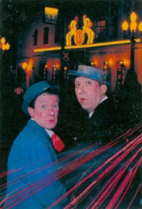 Календарики советский цирк. Клоуны