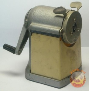 Механическая, советская точилка