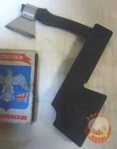 Советская точилка для карандашей складной топорик