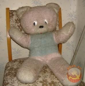 Плюшевый медведь. СССР