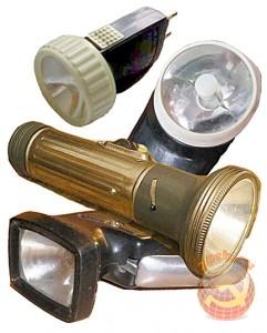 Советский фонарик