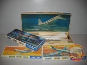 Пластмассовые модели самолетов (made in DDR)