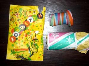 Набор конфетти советский