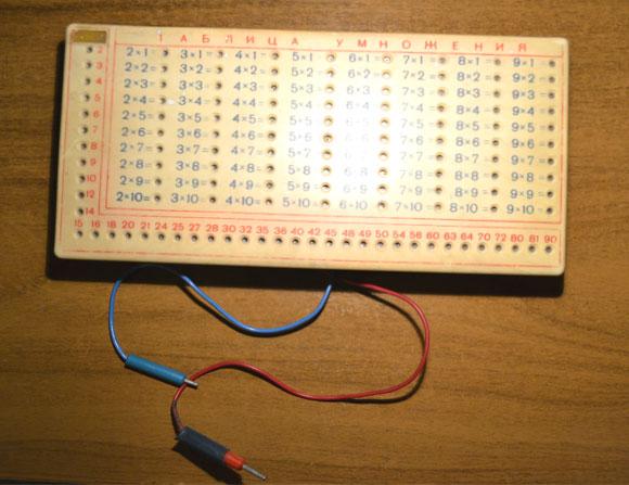 Электронная Таблица умножения