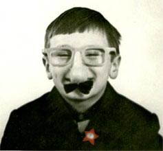 Автор в  маске