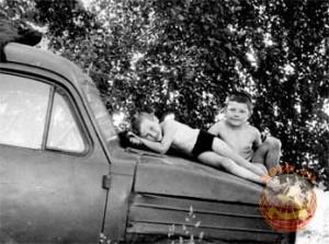 Дети на картофельных полях 70 х