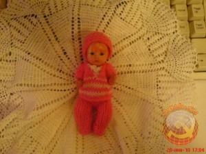 детская куколка 50-х годов. Сохранилась до сих пор у Григорьевой Галины, приславшей это фото