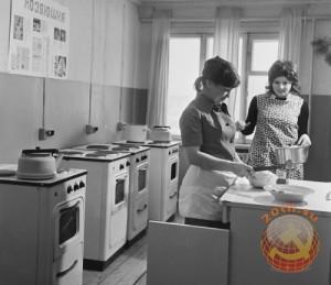 Студенческое советское общежитие