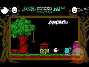 Компьютерная игра Dizzy