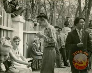 Советская молодежь знакомилась на танцплощадках