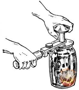 Закатка банки с консервированием