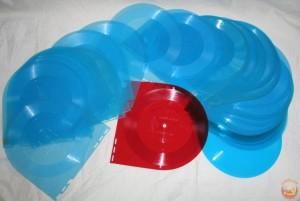 Синие пластинки из журнала Кругозор