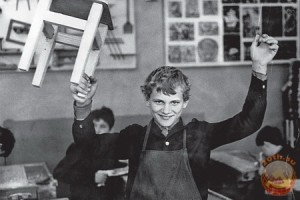 На уроках труда в советской школе