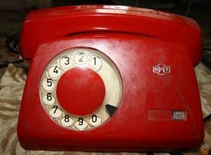 Советский дисковый телефон