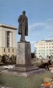 Памятник Ленину в Пензе