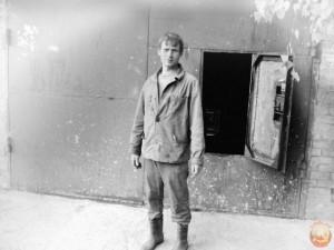 В советском гараже