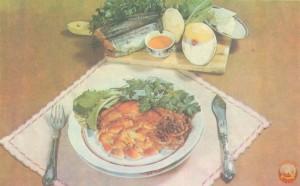 рыба тушенная с овощами