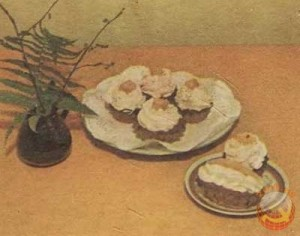 """пироженое """"корзиночка"""""""