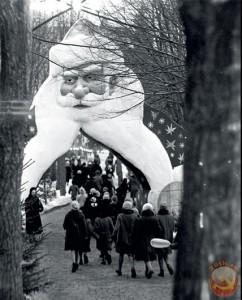 дед мороз ворота