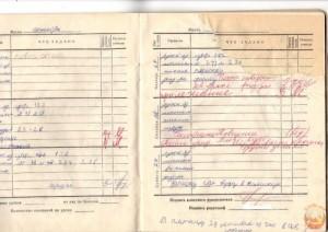 Школьный дневник советского ученика
