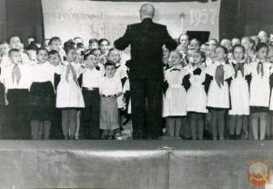 школьный хор в советское время
