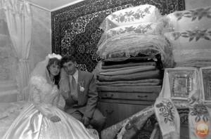 В советское время подарки на свадьбу дарили разные