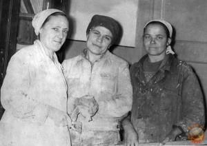 Советские женщины штукатуры-маляры