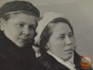 Девочки-студентки, 1945 год