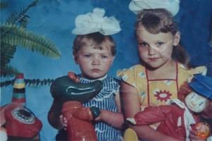 Фото девочек. 80-е годы