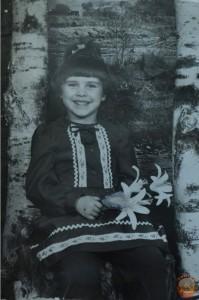 Фото с березой 80-е