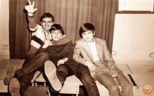 На школьной дискотеке в 7-Б (1984 г.)