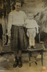 Сельское фото в районном фотоателье. 50-е годы