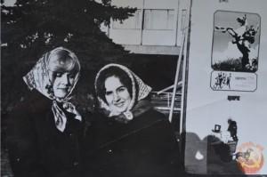 советские девушки в платках