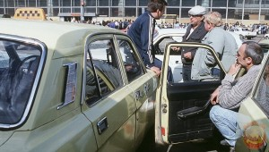 советское такси