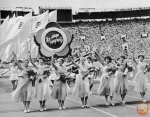 фестиваль молодежи в Москве 1957год