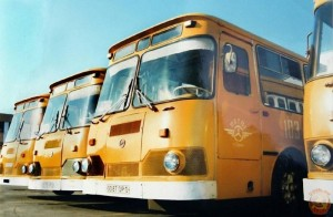 ЛИАЗ - популярный советский автобус