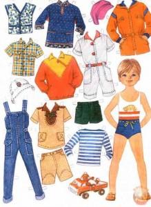 бумажная кукла