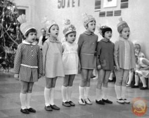новый год детский сад
