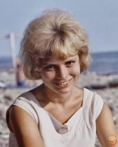 Красива девушка из СССР